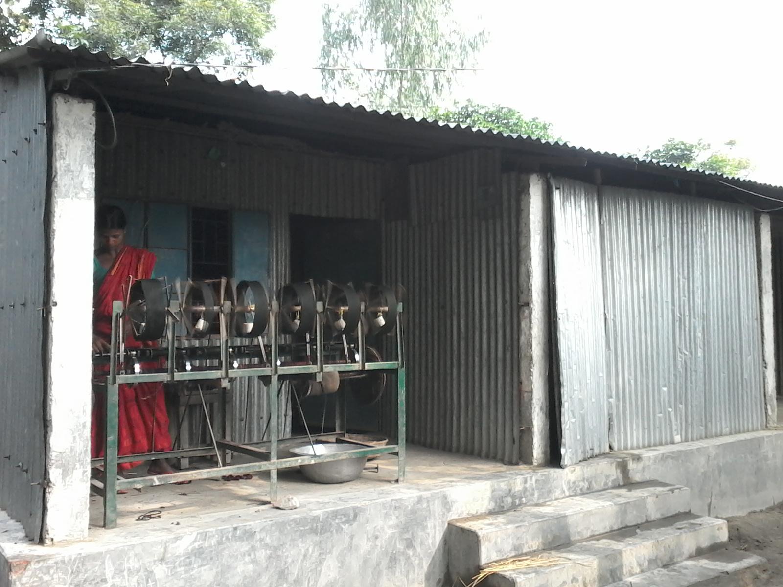 কাপড় বুনন
